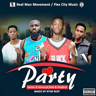 Abinto - Party ft. Alonzy, Statiwilvic & Faceman (Mixed By Ntimbeatz)